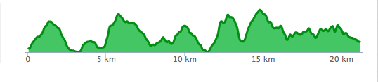 Banprofil Bocksten Trail Run